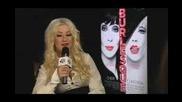 Christina Aguilera с Johnny Vaughan Kat Shoob