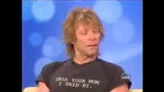 Jon Bon Jovi В Шоуто The View