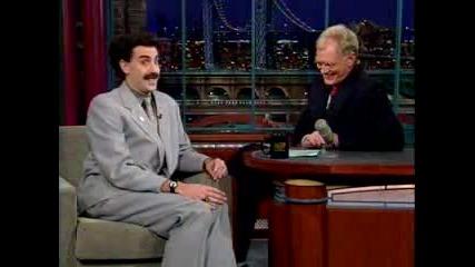 Borat V Efir