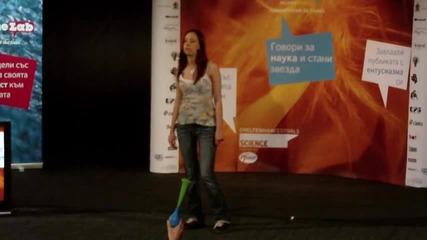 Николета Стамболджиева - за марихуаната и сперматозоидите