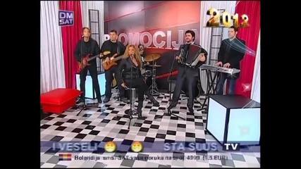 Indira Radic - Kisa - (LIVE) - Promocija - (TV Dm Sat 2012)