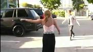 Джъстин прецаква Майли и тя откача ! :d
