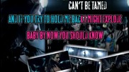 Miley Cyrus - Cant Be Tamed [karaoke]
