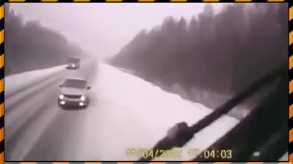 Компилация от автомобилни катастрофи №3