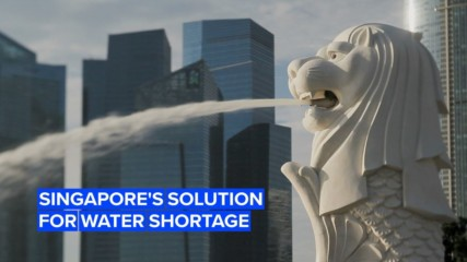 Singapore and its water shortage solution