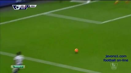 Арсенал 1:0 Нюкасъл 02.01.2016