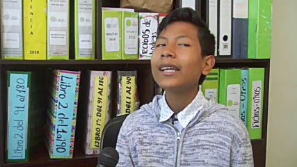 14-y-o opens 'green bank' in Arequipa to help students earn by recycling