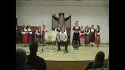 Гърлено пеене - Шамана Ооржак на фона на българска народна песен -
