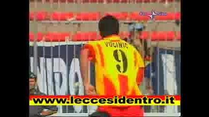 Lecce - Lazio - 4 - Vucinic