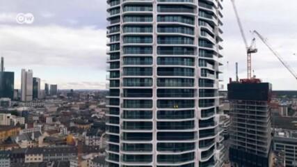 Grand Tower: вижте най-високия жилищен небостъргач в Германия