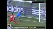 23.06.2010 Словения - Англия 0:1 Гол на Дефо - Мондиал 2010 Юар