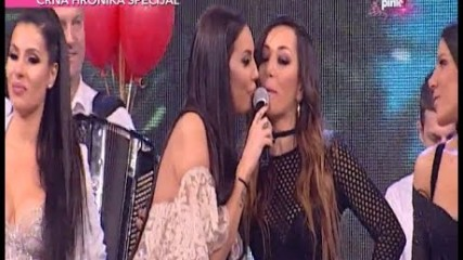 Katarina Grujic - Hajde da se volimo - (LIVE) - Nedeljno popodne Lee Kis - (Tv Pink 25.12.2016.)