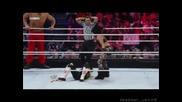 Natalya, Mark Henry & The Great Khali vs Tyson Kidd, William Regal & Melina [10.3.11]