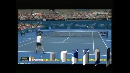 Григор Димитров загуби от Анди Мъри на финала в Бризбейн