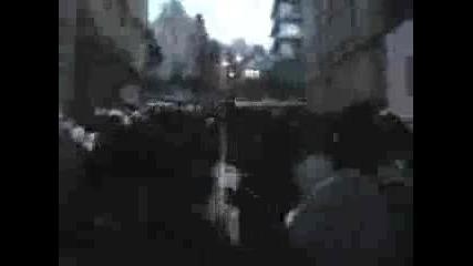 Простест В Щутгарт За Демонстрациите