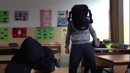 Harlem shake в училище