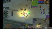 World Of Warcraft 4 Elemental Shamans 1 Paladin Управлявани от 1 Човек Zul`Farrak