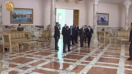 Egypt: Palestinian President Abbas meets Sisi in Cairo