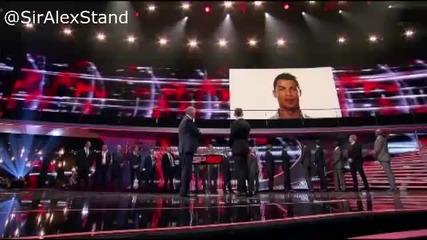 Ето как Роналдо трогна сър Алекс Фъргюсън
