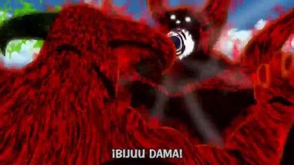 Hachibi fukai vs Hachibi killer bee