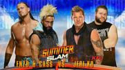 Wwe Summerslam 2016 Enzo & Cass vs Jeri-ko