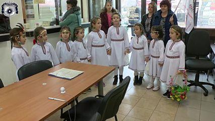 Малки Лазарки Посетиха Община Несебър