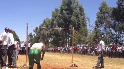 Скок на височина в африка