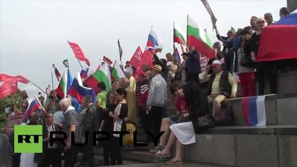 Марш в София за Деня на Победата