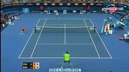 Милош Раонич - Доналд Йънг ( Australian Open 2015 )