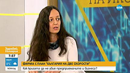 """Фирма с план """"България на две скорости"""": Как кризата да не убие предприемачите и бизнеса?"""