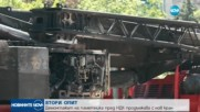 Демонтират паметника пред НДК с нов кран