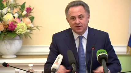 Russia: Sports Minister Mutko defends banned Blatter and Platini