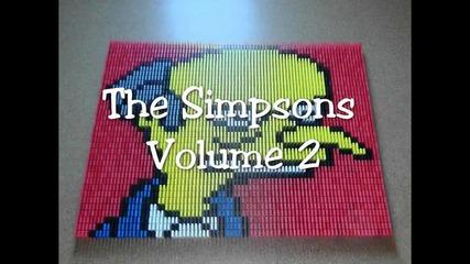 Денят на доминото 2 - Семейство Симпсън