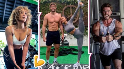 Партньори дори и в спорта: звездните двойки, които тренират заедно