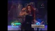 Dulce Maria Entrevista y canta Inevitable Tv de Noche