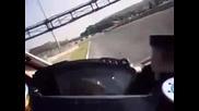 Ускорение на Ducati 1098r
