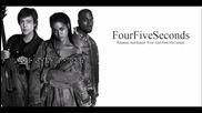 Rihanna ft. Kenye West and Paul Maccartney - Four Five Seconds | A U D I O |