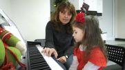 Школа по пиано в Детската градина Пиано-урок