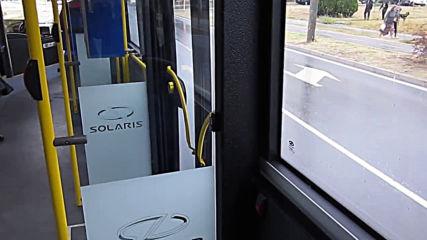 Varna- inside the trolleybus Skoda 26 Tr Solaris no. 318via torchbrowser.com