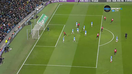 Манчестър Сити - Манчестър Юнайтед 0:1 /първо полувреме/
