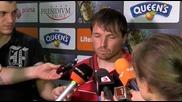 Култов Борис Галчев след Литекс - Цска 0:1, не знае името на съотборник