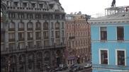 Екстремно преминаване по жица в Русия - Санкт Петербург