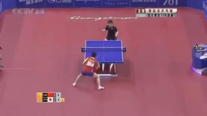 Тенис на маса - Кента Матсудайра
