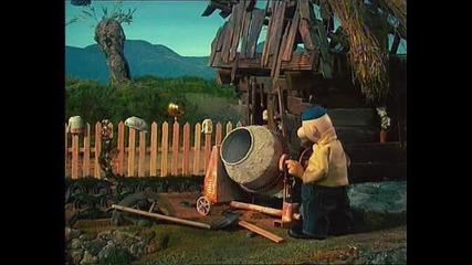 Пат и Мат съседи. Градината.
