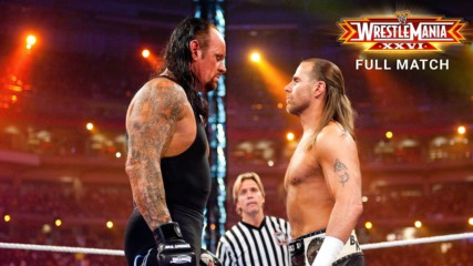 The Undertaker vs. Shawn Michaels - Streak vs. Career No Disqualification Match: WrestleMania XXVI (Full Match - WWE Net