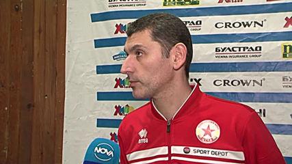 Попов призна, че има индикации генералният спонсор на ВК ЦСКА да се оттегли