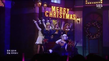 151206 Tts - Dear Santa @ Inkigayo