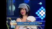 Стефания Колева като Кейти Пери - Като две капки вода - 07.04.2014 г.