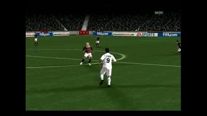 Fifa 10 Gol Krasavec na Cristiano Ronaldo