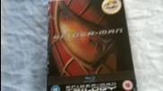 Маниашката трилогия Спайдър - Мен (2002-2004-2007) на Blu - Ray